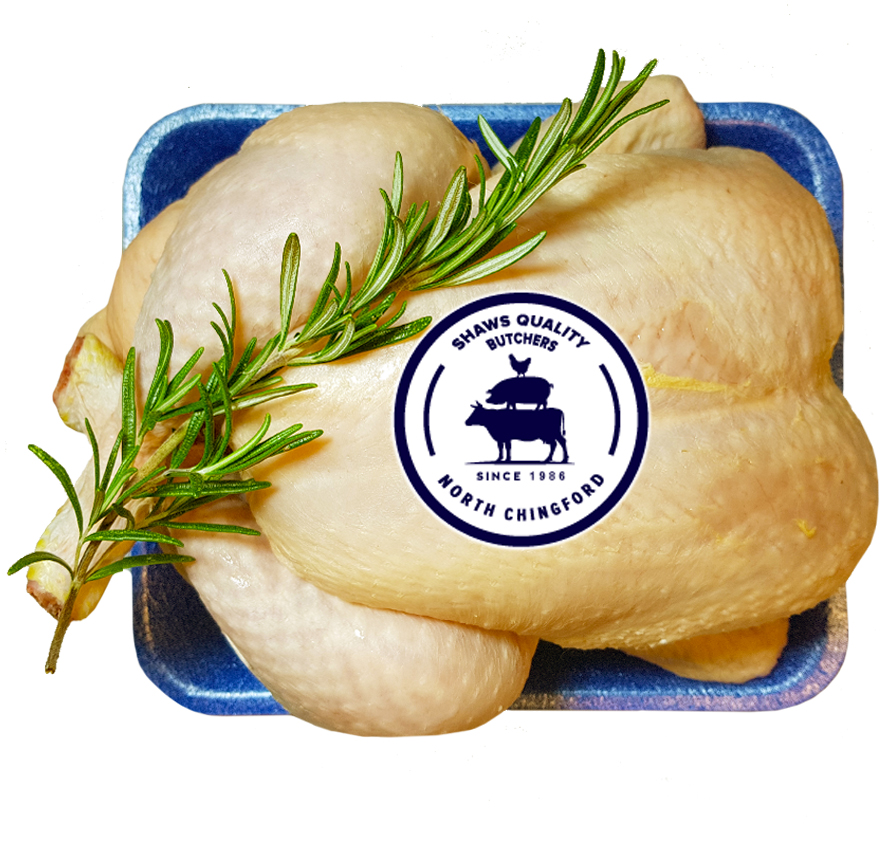 Free Range Whole Chicken (2kg)