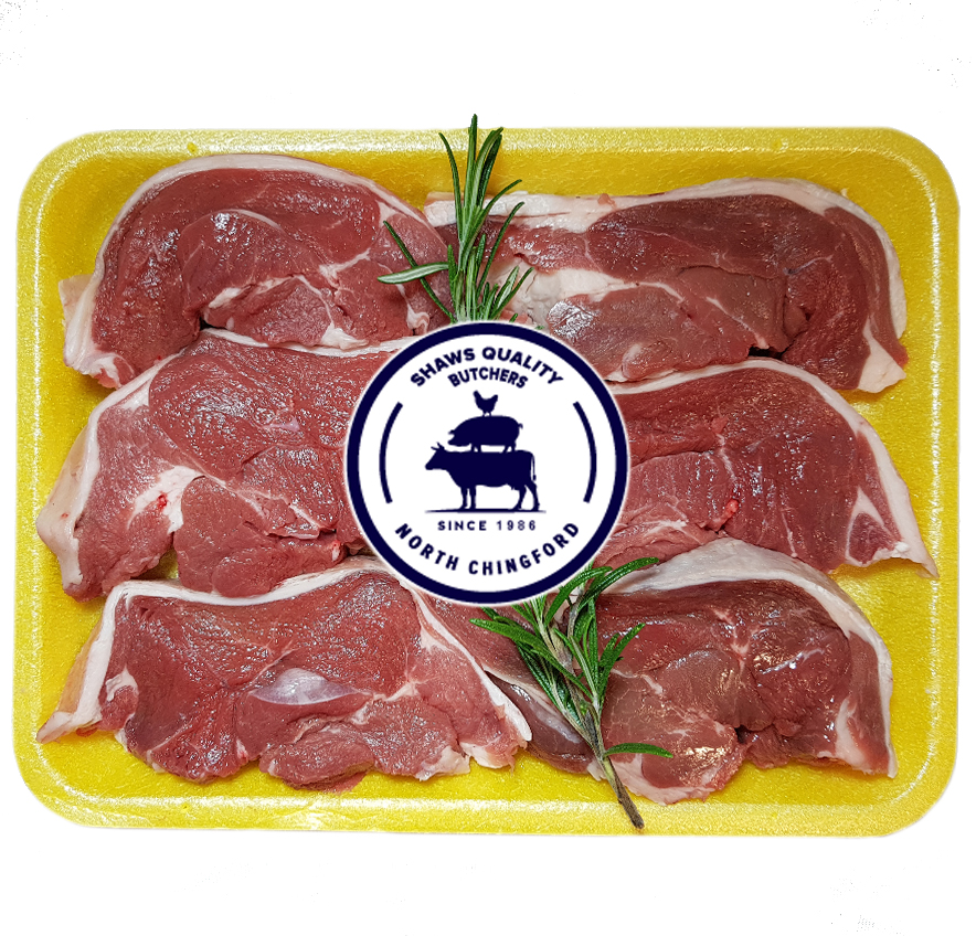 Fresh English Boneless Lamb Rump Steaks