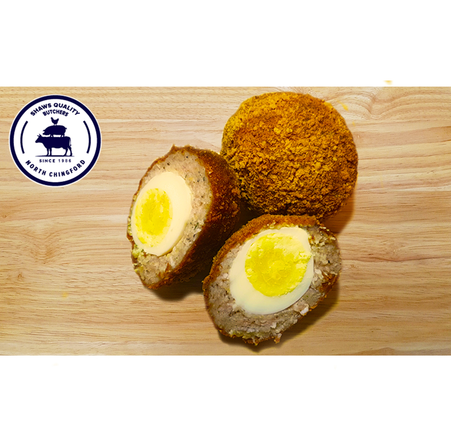 Shaws Fresh Homemade Scotch Eggs